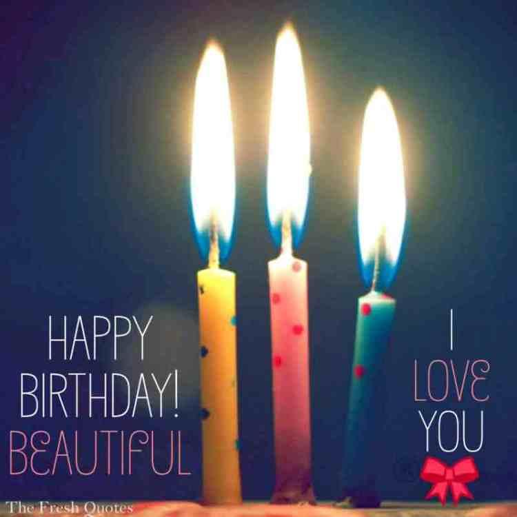 Perfect Happy Birthday Beautiful I Love You Image