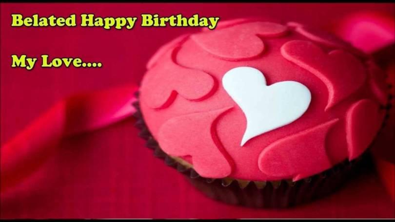 Romantic Happy Belated Birthday