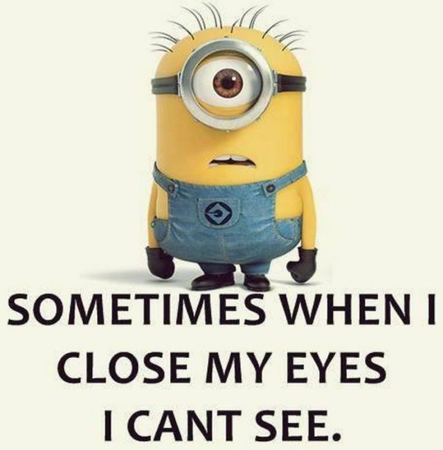 Sometimes When I Close My Eyes I Cant See