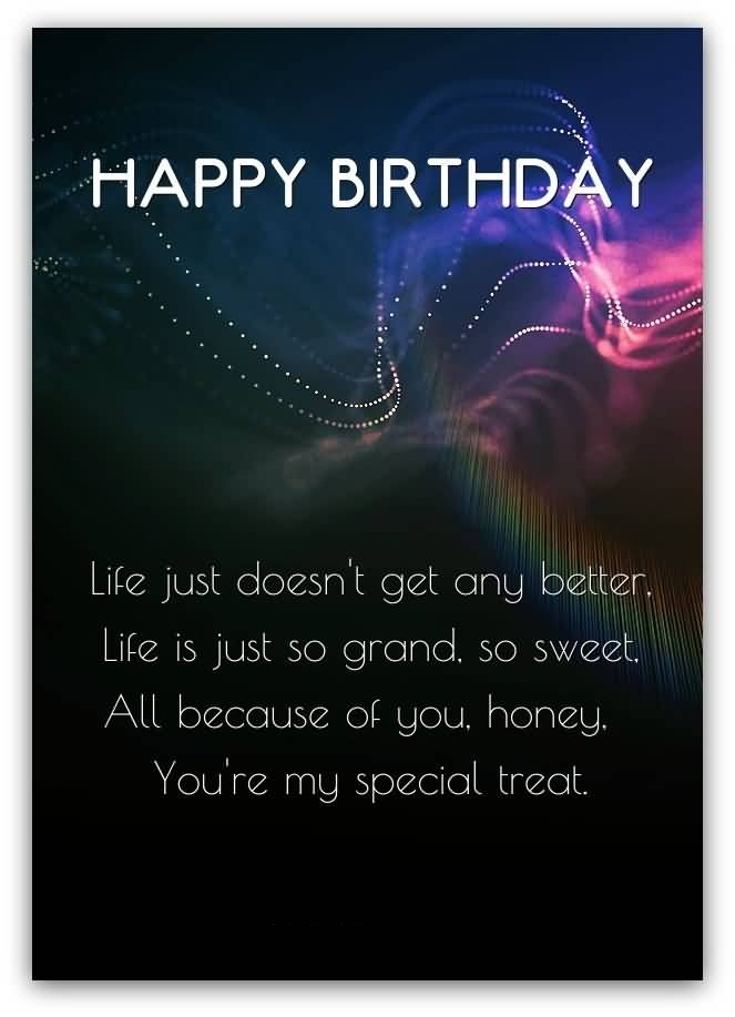 Sweet Birthday Message For Someone Special