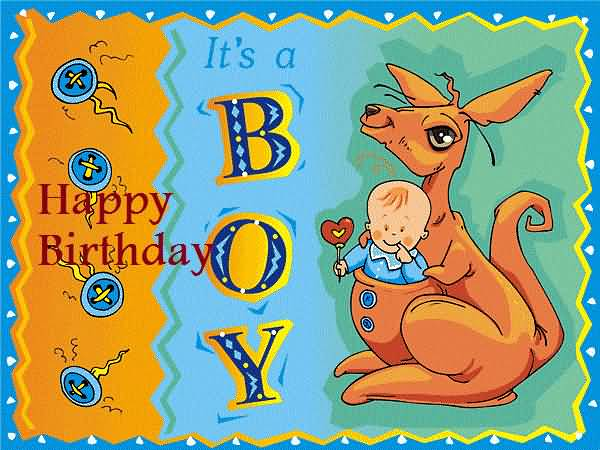 Sweet Birthday Wishes For Cute Baby Boy