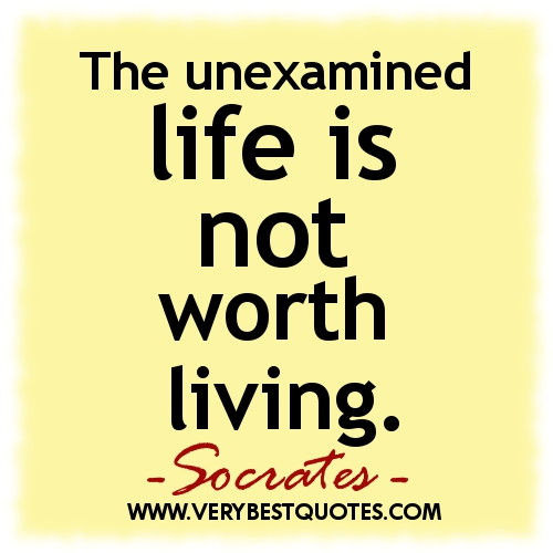 The Unexamined Life Is Not Socrates