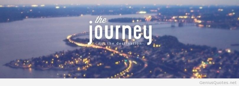 The journey not the destination