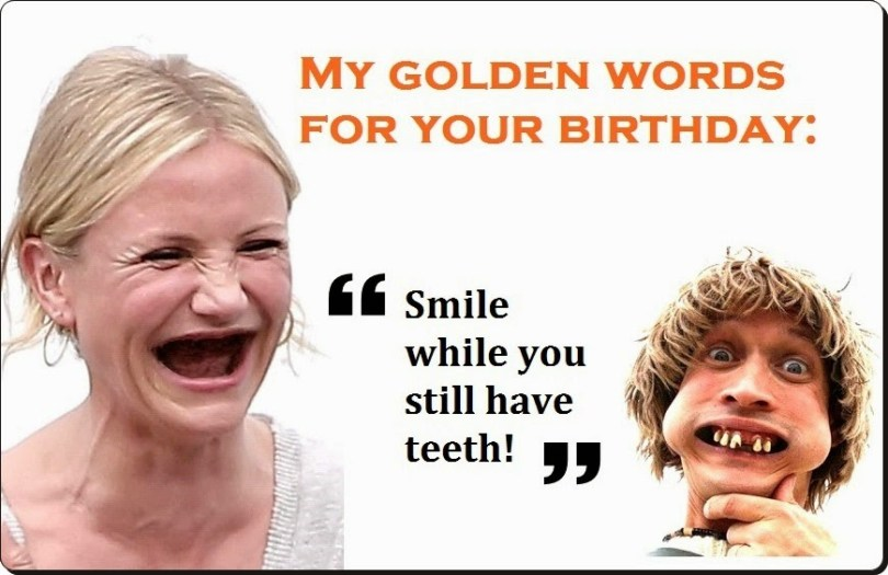 Very Funny Girl Birthday Wishing Image