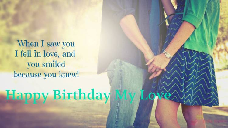 Wish A Very Special Birthday To The Special Person Of My Life