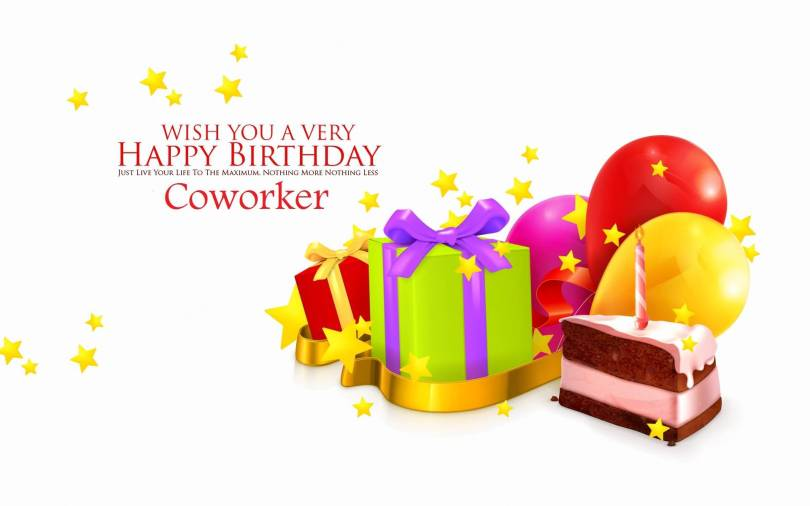 Wish You A Very Happy Birthday Coworker Best Greeting Image