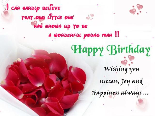 Wishing You Success Happiness And Joy Always Happy Birthday Mom Mom Birthday Wishes