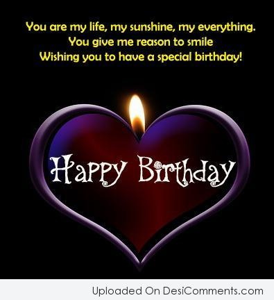 Wishing You To Have A Special Birthday Love