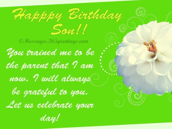 You Trained Me To Be The Parent That I Am Now Happy Birthday Son