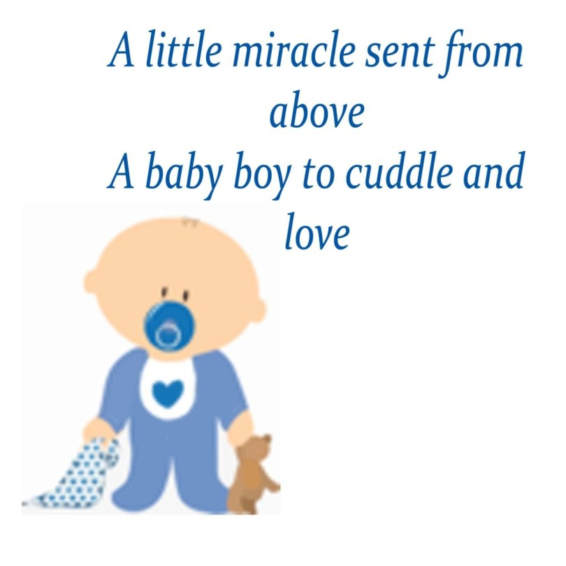A Little Miracle Sent From Above A Boby Boy To Cuddle And Love