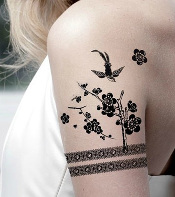 Amazing Bird Temporary Tattoo On Arm For Man Woman
