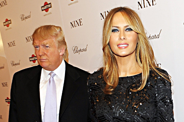 Donald Trump And Wife Melania Trump Attend The New York Premiere Of &Quot