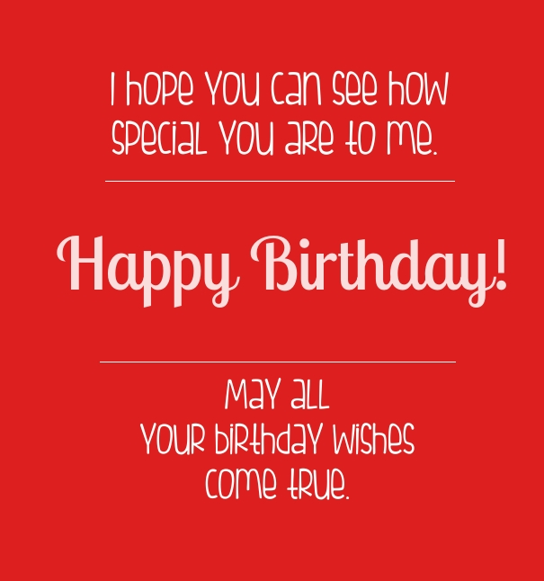 Wishes Do Come True Quotes: 52 Mesmerizing Birthday Love Quotes, Sayings & Photos
