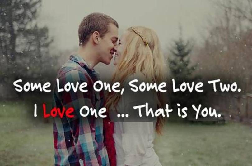 Some Love One Some Love Two I Love One That Is You