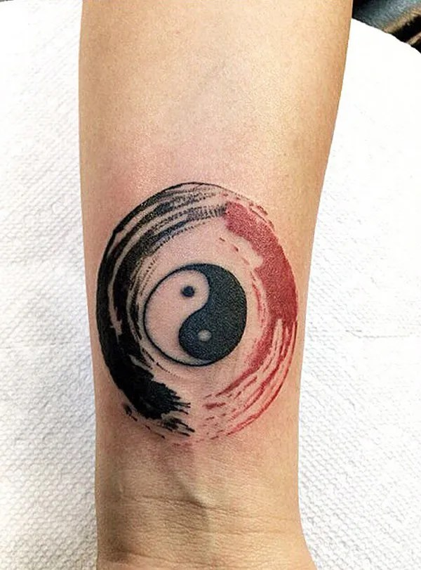 Ultimate Yin Yang Tattoo With Black Ink For Man Woman