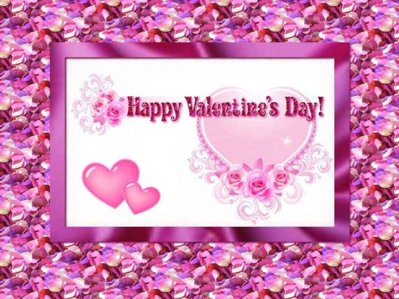 A Hundred Hearts Would Be Too Few To Carry All My Love For You. Happy Valentine Day