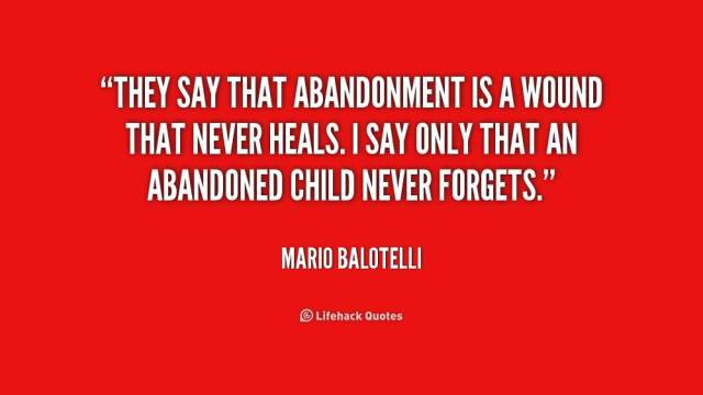 Abandonment Quotes Sayings 047