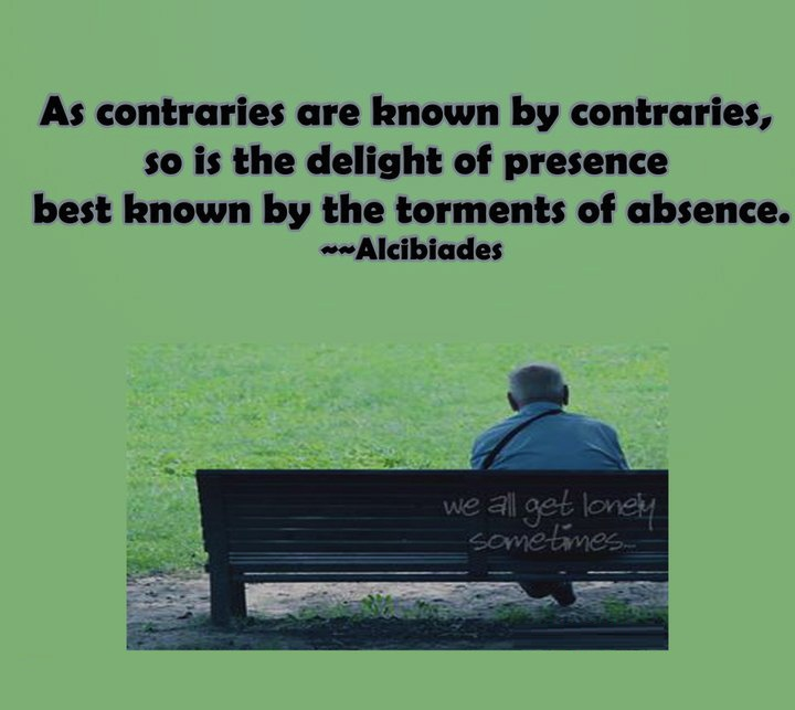 Absence Sayings As Contraries Are