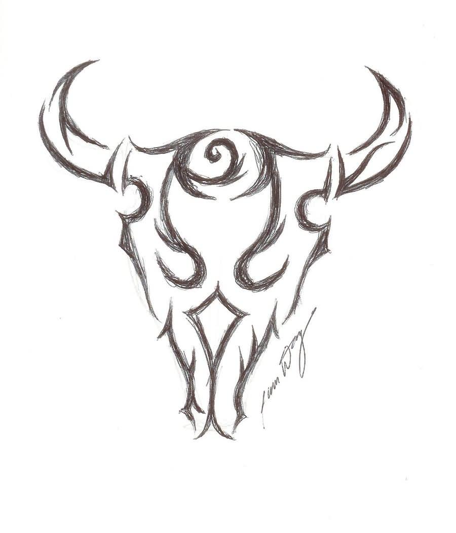 3b3396009 48 Dashing Bull Tattoos Designs, Ideas For Boy & Girls | Picsmine