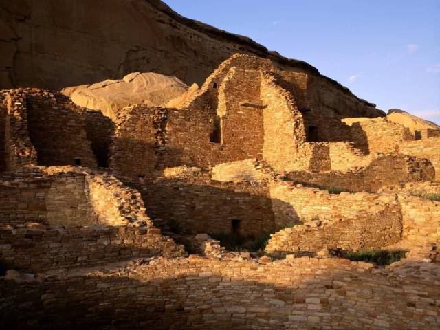 Amazing Pueblo Bonito Chaco Cultural Natural Historic Park New Mexico 4K Wallpaper