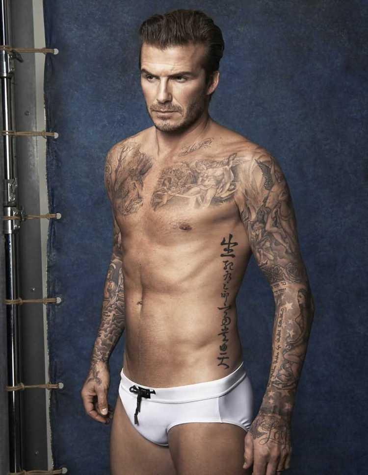 David Beckham Tattoo009