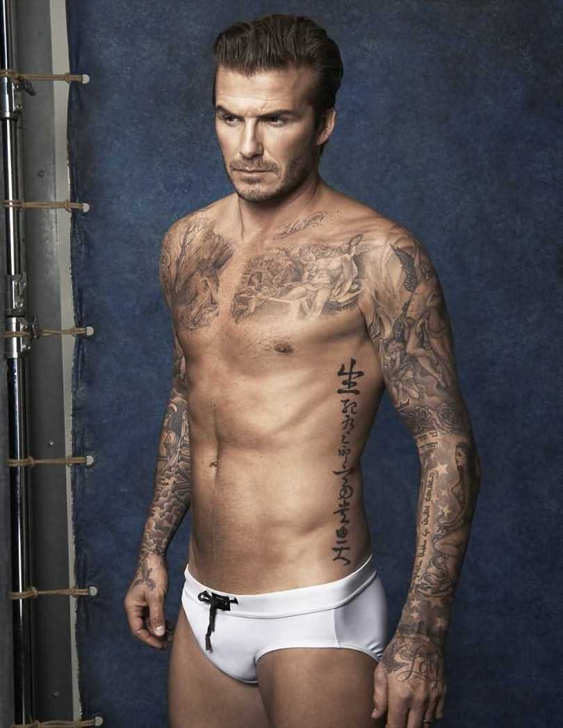 David Beckham Tattoo009