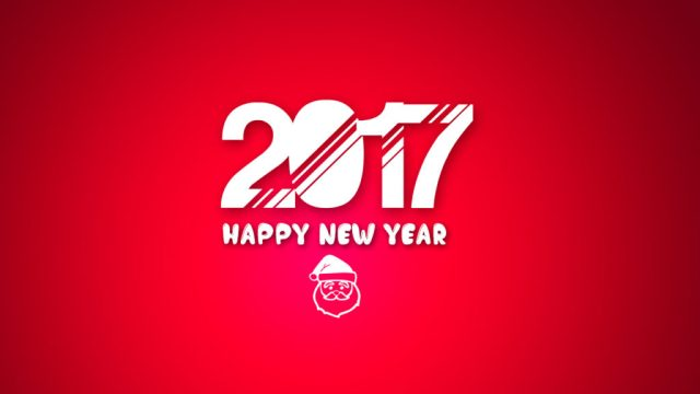 Awesome Happy New Year 2017 Great Wallpaper