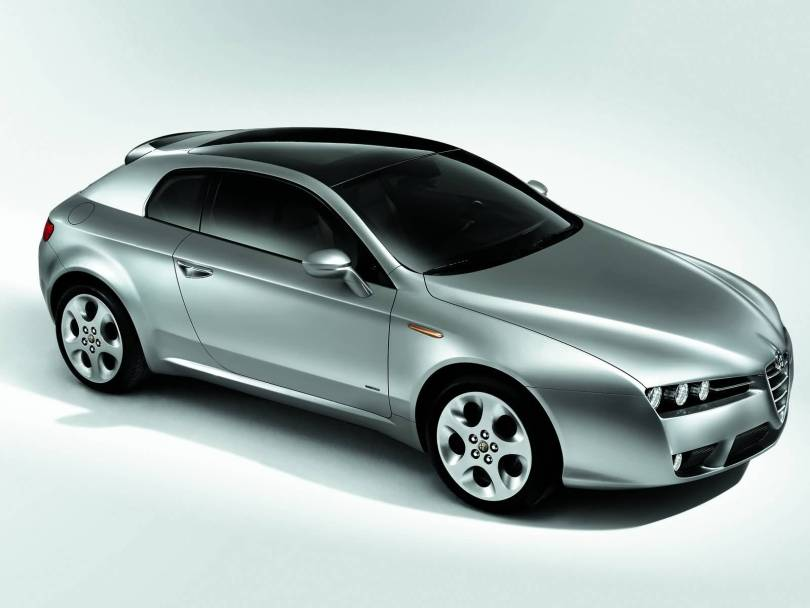 Awesome Silver Alfa Romeo Brera Car
