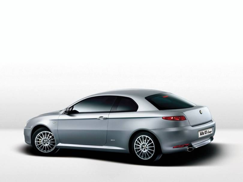 Awesome Silver colour Alfa Romeo GTCoupe car Alfa Romeo HD Wallpaper
