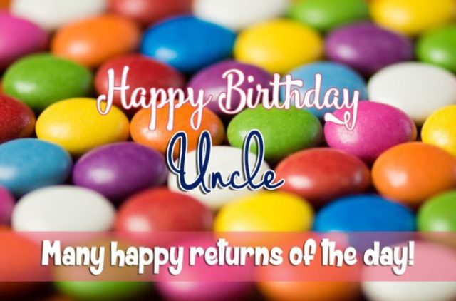Awesome Uncle Birthday Wishes Image
