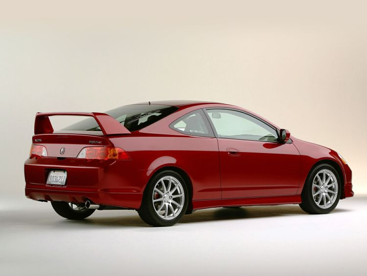 Awesome red color Acura TSX car