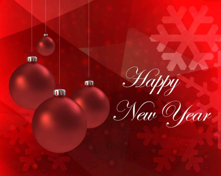 Awesome Happy New Year Wishes Wallpaper