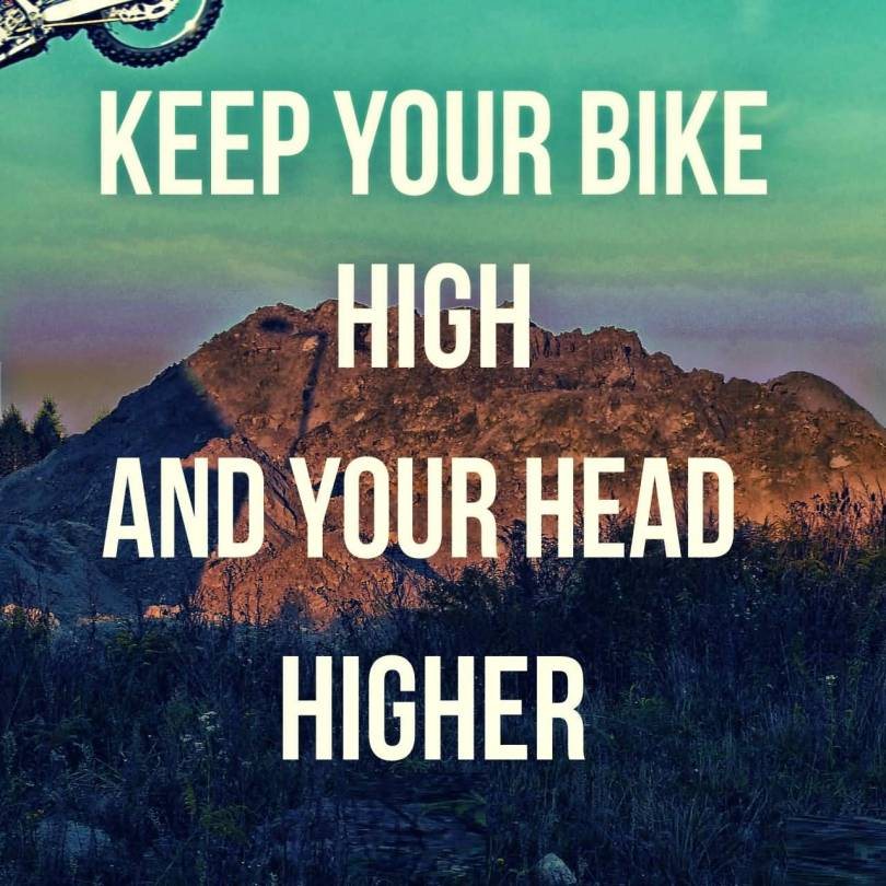 BMX Quotes Keep your