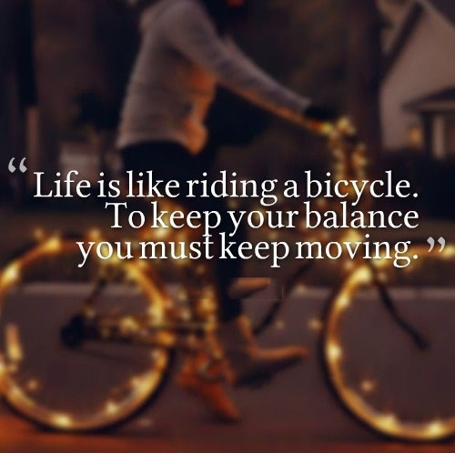 BMX Quotes Life is like