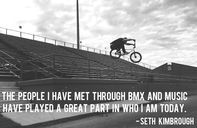 BMX Quotes The people i have met through