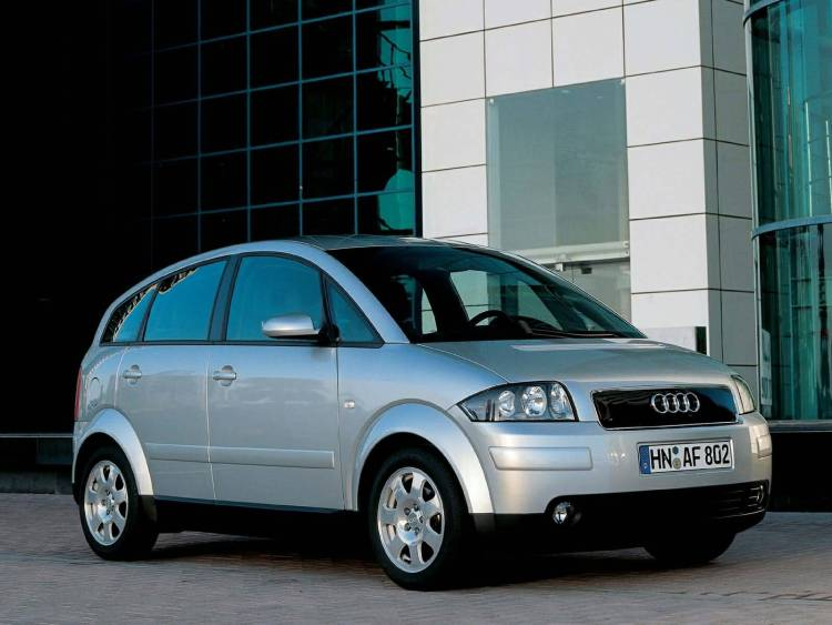 Beautiful Audi A2 Car Right side view
