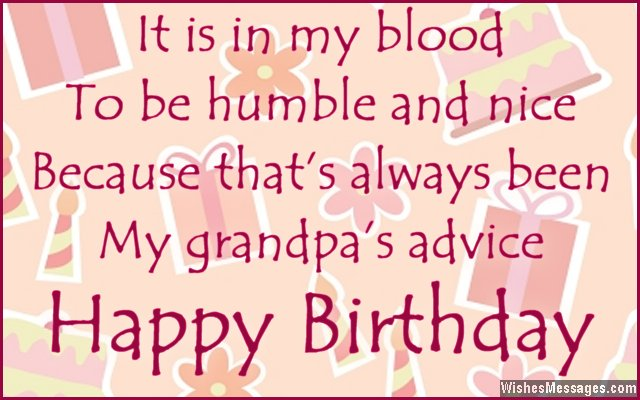 Beautiful Birthday Quotes For Grandpa Wishes