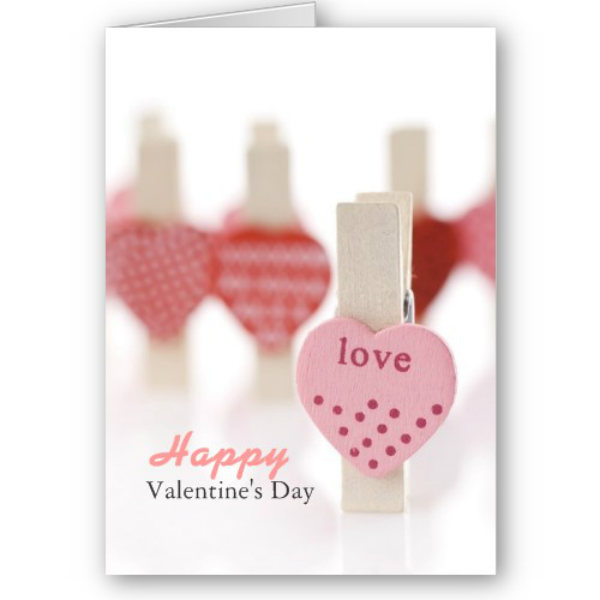 Beautiful Happy Valentine Day Greetings Card For Lover