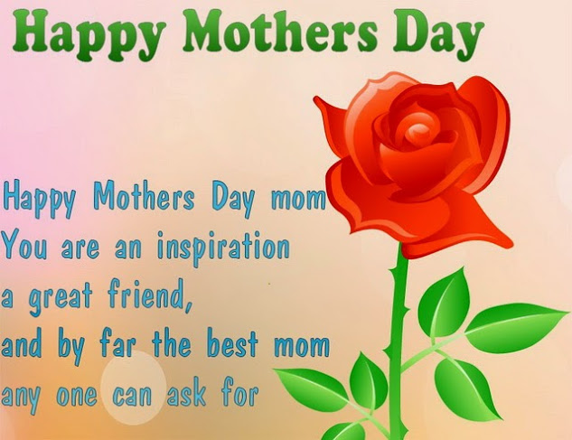 Best Mom Happy Mothers Day Wishes Card