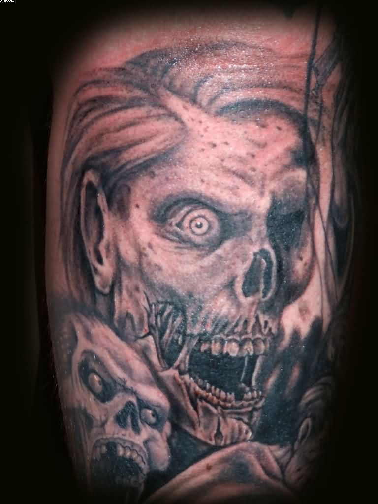 Best Rob Zombie Tattoo (2) Skul