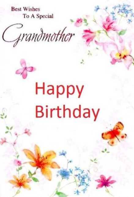 Best Wishes To A Special Grandmother Happy Birthday Greeting E Card