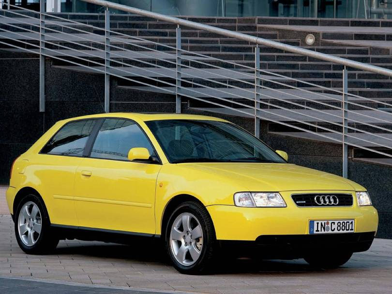 Best yellow Audi A3 car