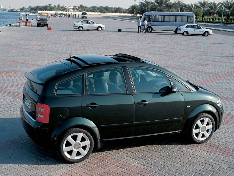 Black amazing Audi A2 car Audi A2 Car Wallpaper