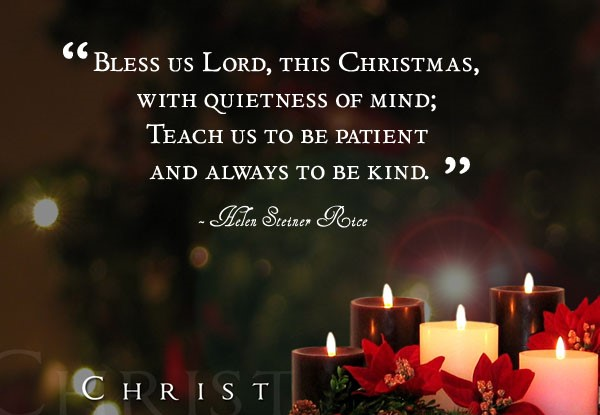 Bless Quotes Merry Christmas