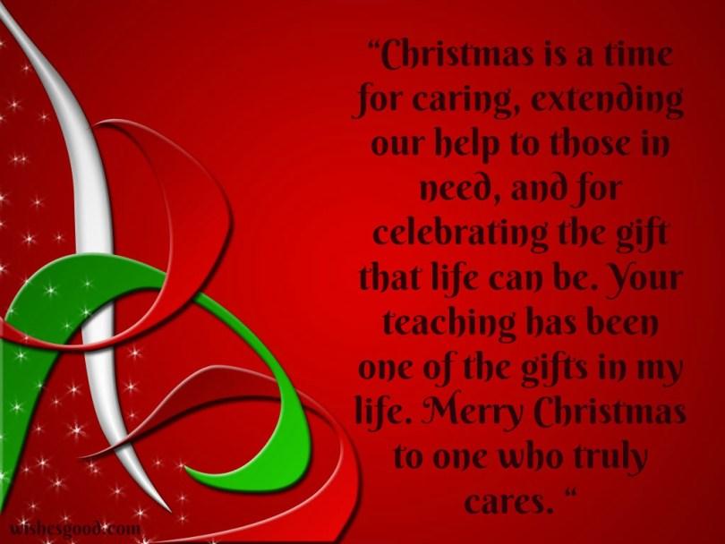 Breathtaking Merry Christmas Poem Graphic