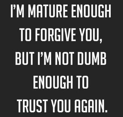 Broken Trust Quotes24