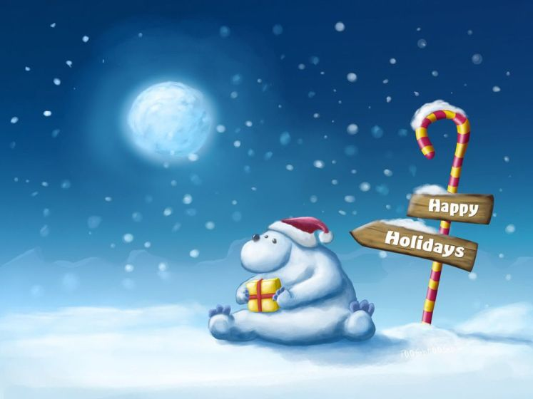 Cute Happy Holiday Wishes