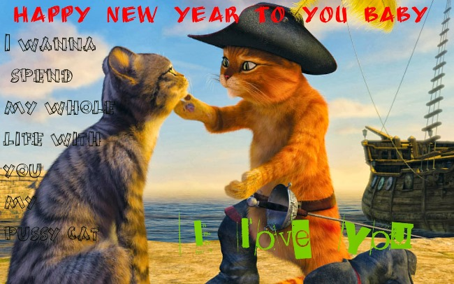 Cute Happy New Year Wishes Image