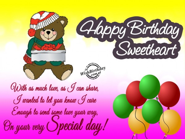 Darling You Are A Wonderful Bloom On You Your Special Day Happy Birthday Greeting Graphics