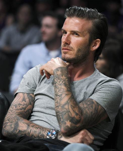 David Beckham Tattoo001